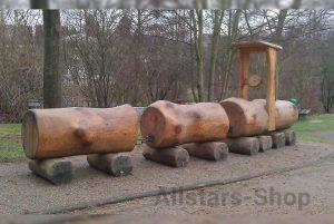 Allstars Spielplatzeisenbahn aus Holz