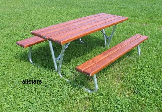 Beliebt Beckmann Picknick Bank Garnitur Tisch und Bänke Set Kombination KI76