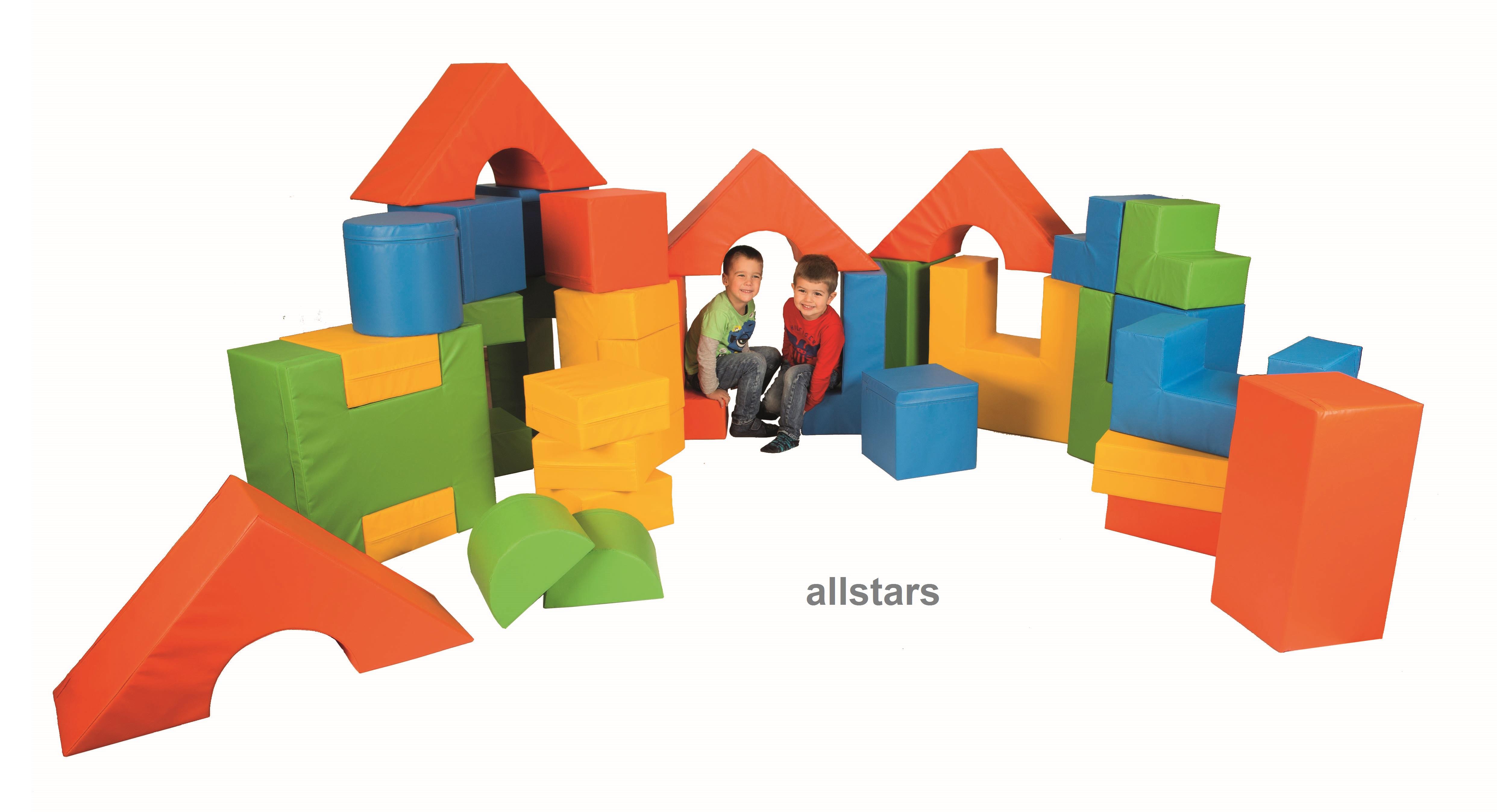 Schaumstoff Bausteine Kinderzimmer : b nfer kids softbausteine bausteine bausteinsatz 34 tlg ~ Watch28wear.com Haus und Dekorationen