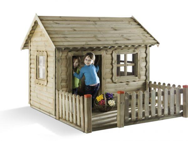 Spielhäuser & Spielzelte aus Holz