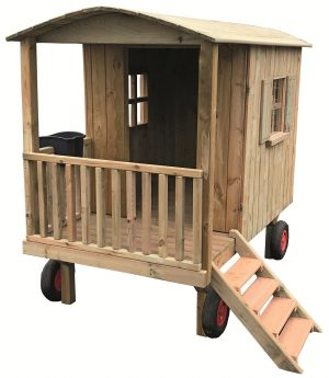 Zirkuswagen & Bauwagen aus Holz