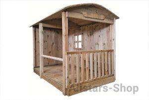 Allstars Ponystall Holz Spielhaus