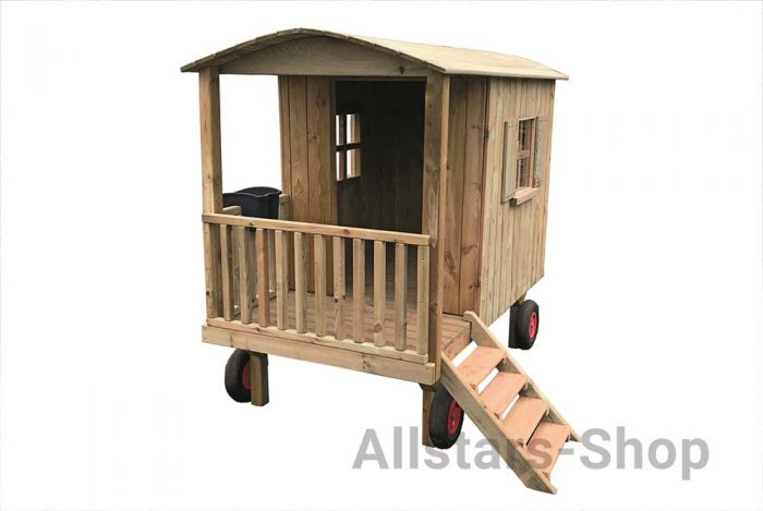 Allstars Zirkuswagen aus Holz
