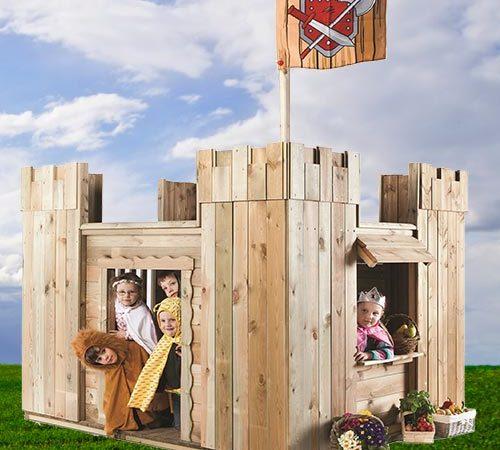 Burgen, Schlösser & Bauernhöfe aus Holz
