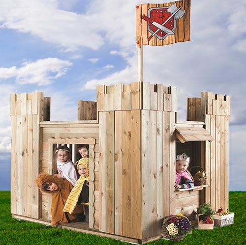 Burgen Bauwagen Schlösser
