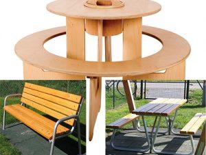 Gartenmöbel, Tische, Bänke & Sitzgruppen