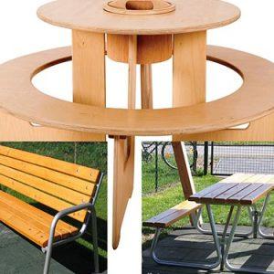 Gartenmöbel Tische Bänke Sitzgruppen