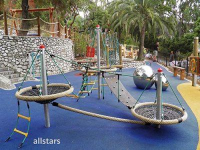 Spiellandschaften, Parcours & Spielelemente