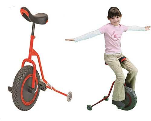 Einräder, Laufräder & Monokel