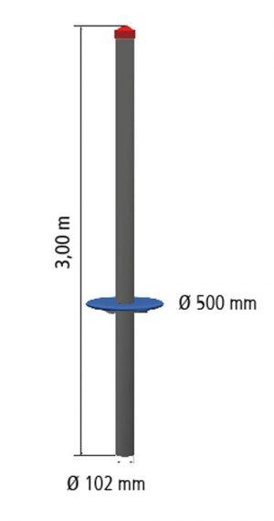 HUCK Standpfosten aus Stahl
