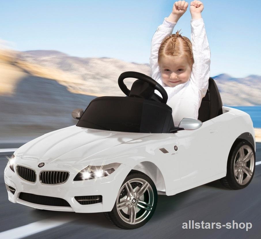 Jamara Kinderauto Elektroauto BMW Z4 Ride On Car mit E ...