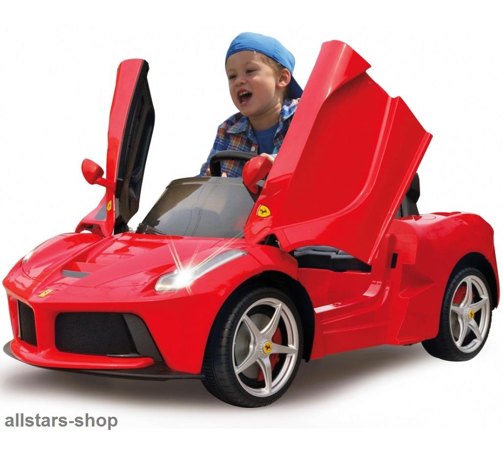 Jamara Kinderauto Elektroauto Ferrari Laferrari 2 4 Ghz Ride On Car E Motor Rot Ebay