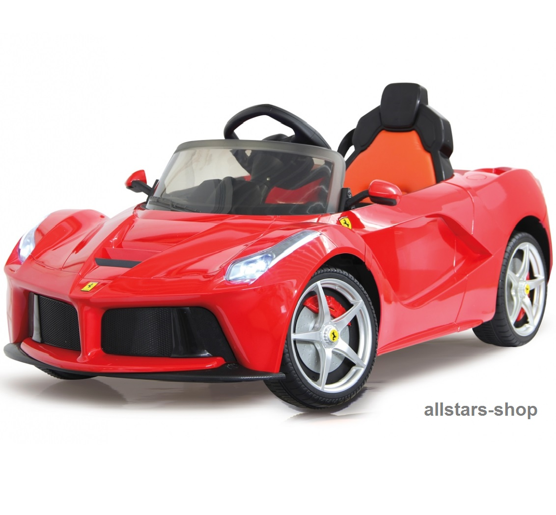 jamara kinder auto elektroauto ferrari laferrari 2 4 ghz. Black Bedroom Furniture Sets. Home Design Ideas