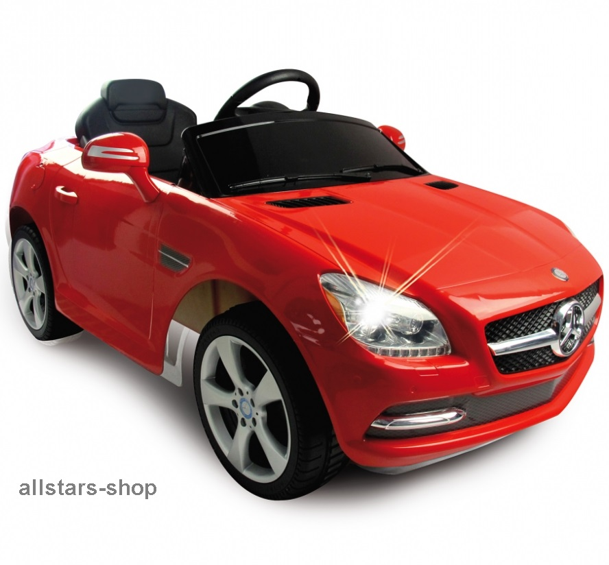 jamara kinder auto elektroauto mercedes slk ride on car. Black Bedroom Furniture Sets. Home Design Ideas