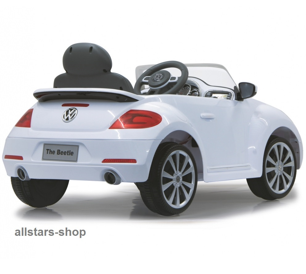 jamara kinder auto elektroauto vw beetle ride on car mit e. Black Bedroom Furniture Sets. Home Design Ideas