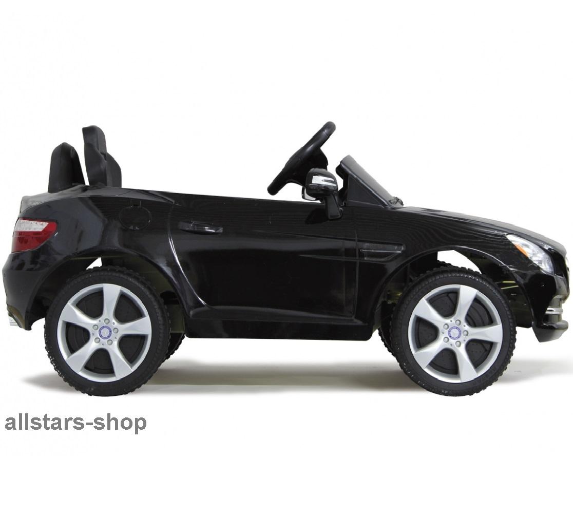 jamara kinderauto elektroauto mercedes slk ride on car mit e motor schwarz allstars shop. Black Bedroom Furniture Sets. Home Design Ideas