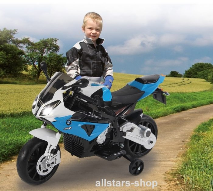 jamara kinder motorrad ride on bmw s1000rr motorbike mit e. Black Bedroom Furniture Sets. Home Design Ideas