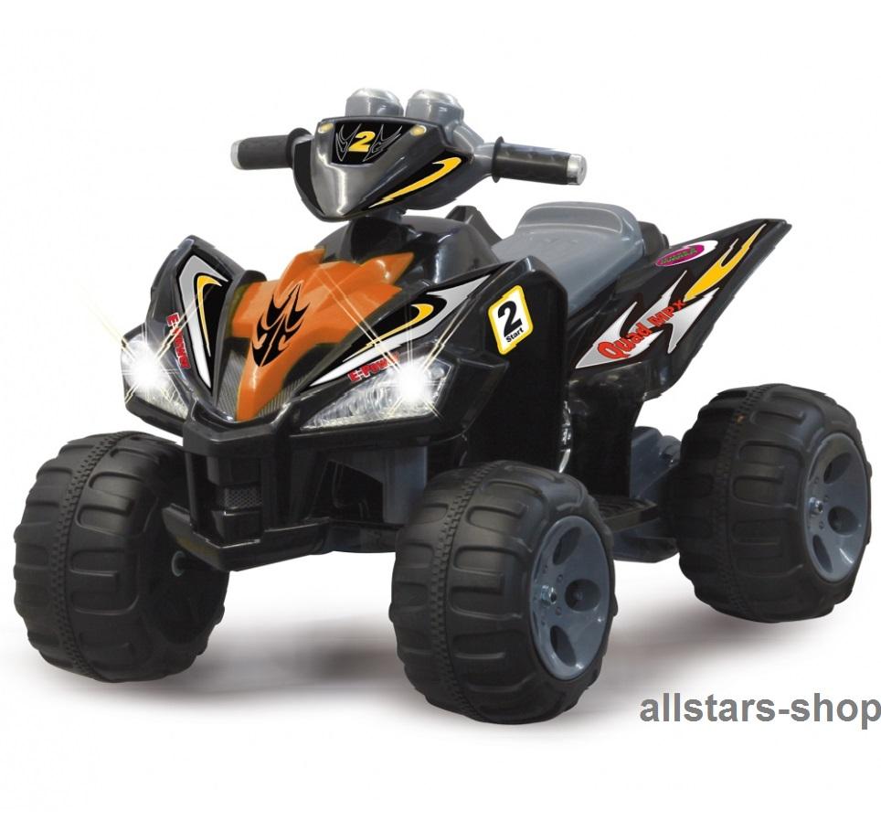 jamara elektroquad ride on quad 12 mit e motor kinderquad motorrad kinderauto schwarz spiel. Black Bedroom Furniture Sets. Home Design Ideas
