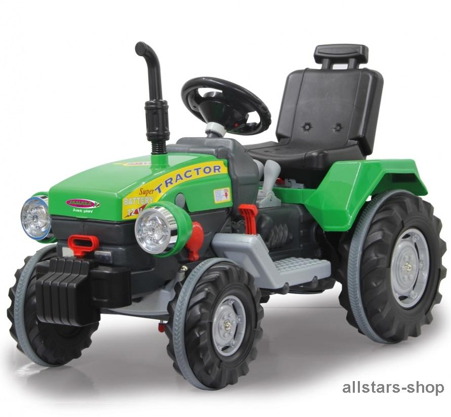 jamara kinder auto ride on traktor mit elektromotor