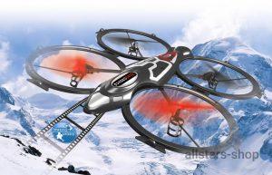 Quadrodrom Quadrocopter HD, Kompass, Flip, 2,4G