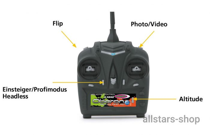 Oberon Altitude Drohne HD