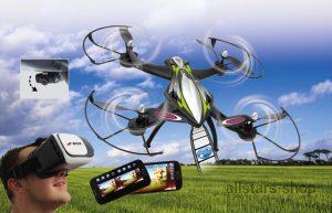 Jamara F1X VR Drone Altitude FPV Wifi Kompass Flyback