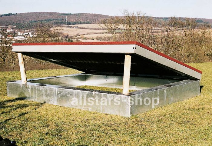 HUCK Eingrab-Rahmen für Trampolin 2000