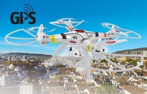 Jamara Payload GPS Drohne Altitude HD FPV Wifi ComingHome