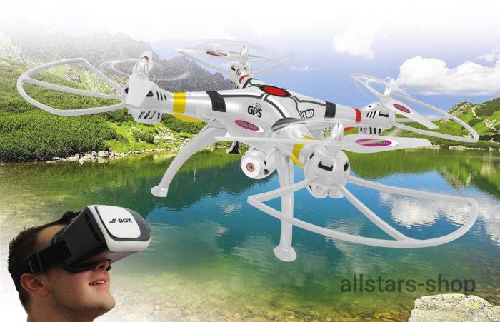 Jamara Payload GPS VR Drohne Altitude HD FPV Wifi