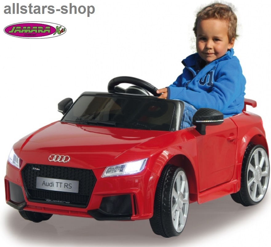 jamara kinder auto elektroauto audi tt rs roadster ride on. Black Bedroom Furniture Sets. Home Design Ideas
