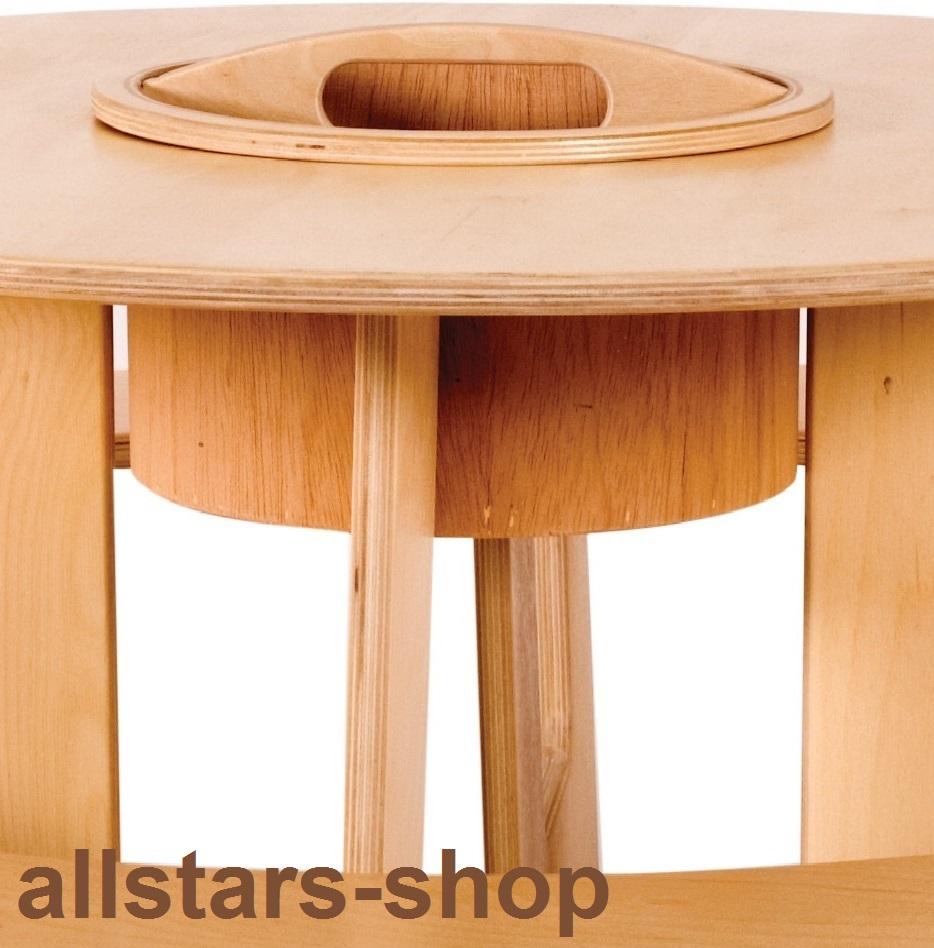Allstars Tischgruppe Rund Kinder Sitzgarnitur Hochwertig Aus