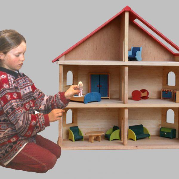 Puppen, Puppenmöbel & Puppenwagen