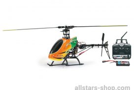 RC Helikopter E-Rix 450 Carbon RTF Gas Rechts uneingeflogen