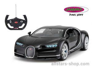 Bugatti Chiron 1:14 schwarz mit 27MHz Fernbedienung von Jamara