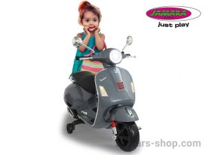 Jamara Kinder-Motorroller Ride On - Scooter Vespa (grey)