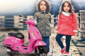 Jamara Ride-on Vespa GTS 125 pink 12V