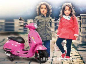 Jamara Ride-on Vespa GTS 125 pink 12V
