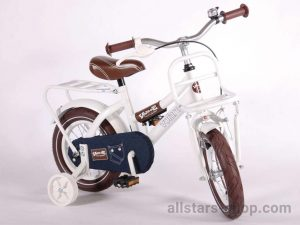 Dino Wheels Kinderfahrrad 12 Zoll Urban Jeans in Weiß