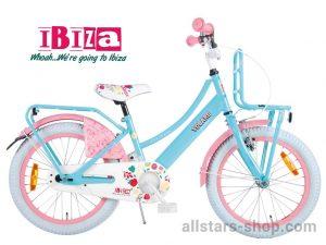 Dino Wheels Bikes Ibiza Mädchenfahrrad 18 Zoll - türkis/rosa