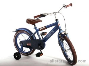 "Dino Wheels Bikes ""Urban City"" Kinderfahrrad 16 Zoll - matt-blau"
