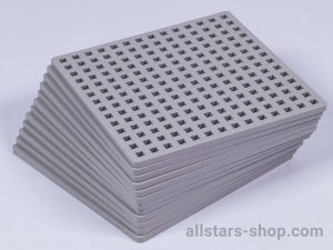 Allstars Plus-Plus Mini Platten grau