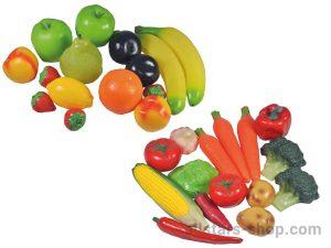 Allstars Gemüse- und Früchte-Set, 30-teilig
