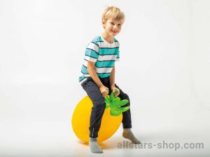 "Allstars Hüpfball ""Zitrone"""