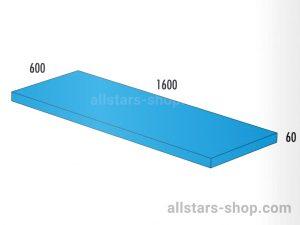 Bänfer Matte blau 1600x600x60 mm
