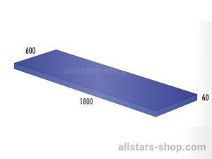 Bänfer Matte blau 1800x600x60 mm