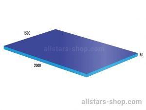 Bänfer Matte blau 1500x600x60 mm