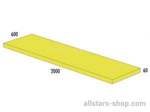 Bänfer Matte gelb 1500x600x60 mm