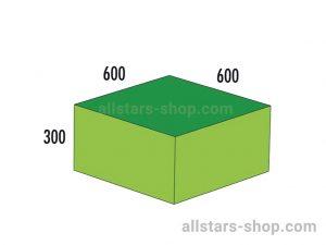 Baenfer Bausteinsatz Quader 300x600x600 gruen