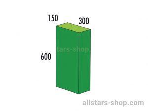 Baenfer Bausteinsatz Quader 600x300x150 gruen