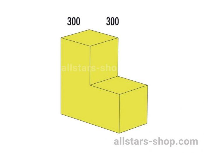 Bänfer Bausteinsatz Winkel 600x300x300